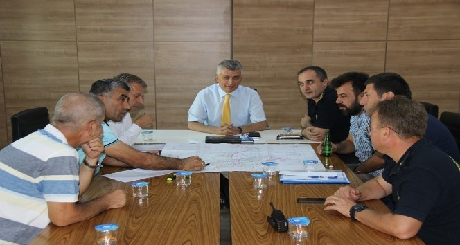 Cizre'de altyapısı tamamlanan yollar asfaltlanacak