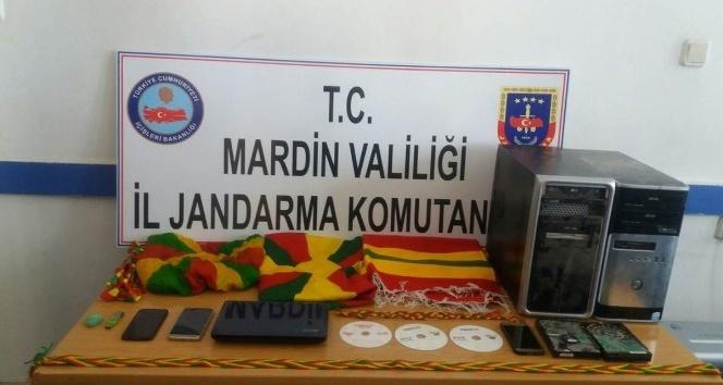 Mardin'de terör operasyonu: 3 gözaltı