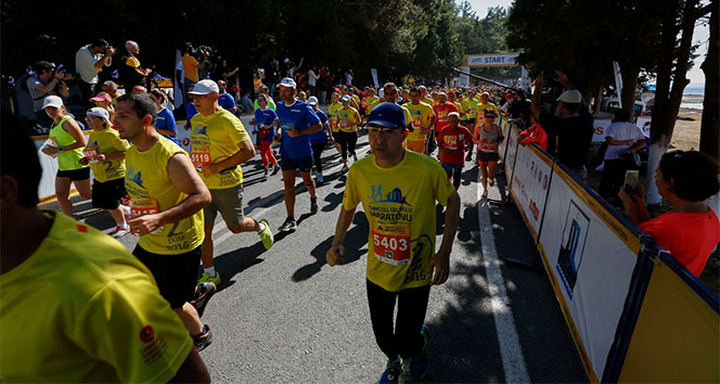 Turkcell Gelibolu Maratonu'nda 'Barış' için koşulacak