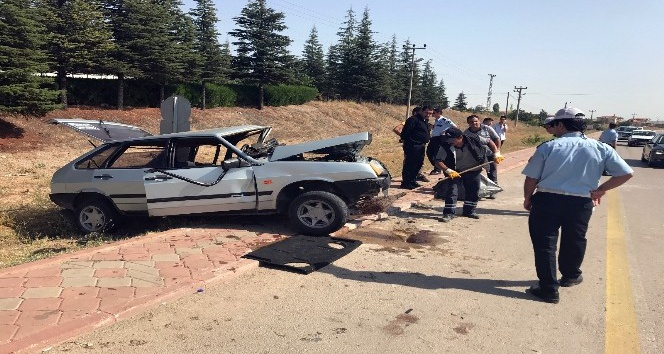 Kırıkkale'de trafik kazası: 5 yaralı