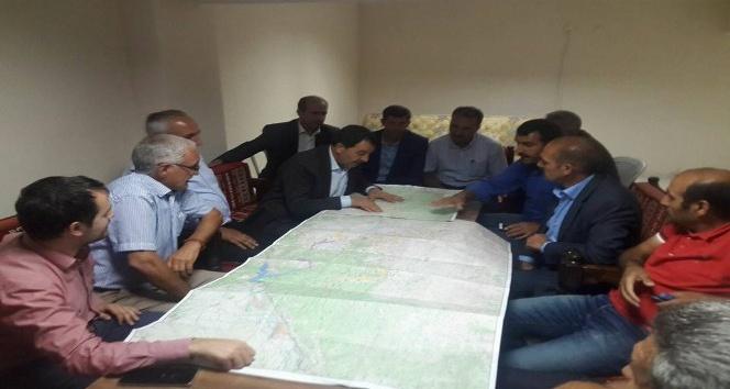 Vahkin Sulama projesinden 18 köy yararlanacak