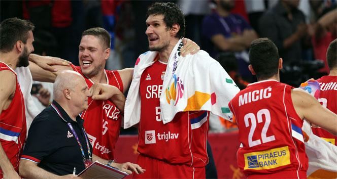 Eurobaskette finalin adı Slovenya - Sırbistan