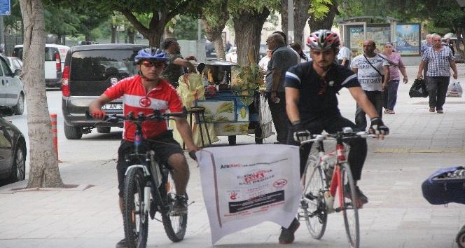 Arakan'daki katliama tepki için pedal çevirecekler