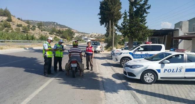 Aydın'da 16 bin 158 araca ceza uygulandı