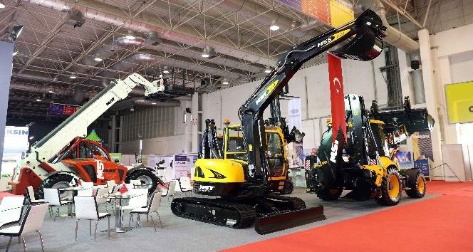 Sanko yeni iş makinelerini Mebex Fuarında tanıttı
