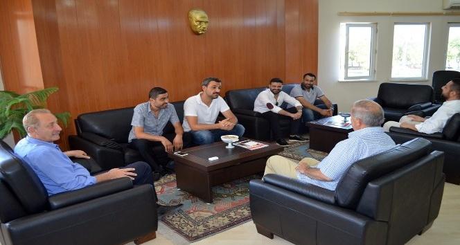 Didim Belediyespor Yönetiminden Başkan Atabay'a ziyaret