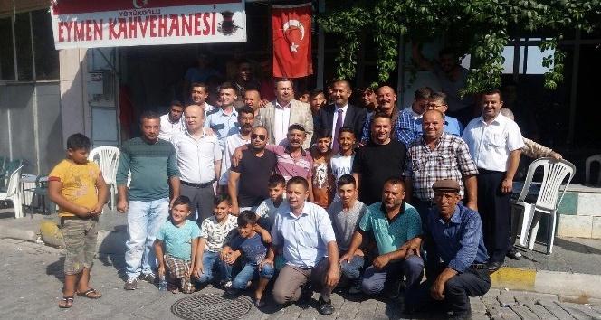 Kırkağaç'ta protokol Roman vatandaşlarla buluştu