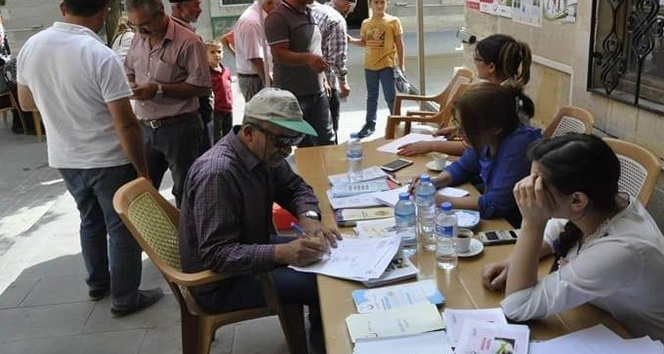 Gürün'de vatandaşlara obezite testi yapıldı