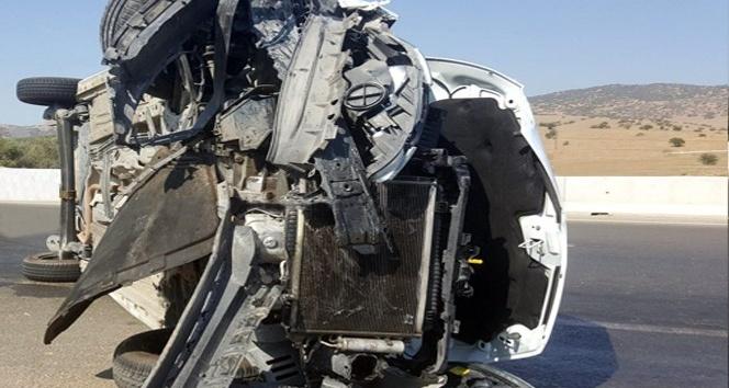 Ödemiş-İzmir yolunda kaza: 1 yaralı