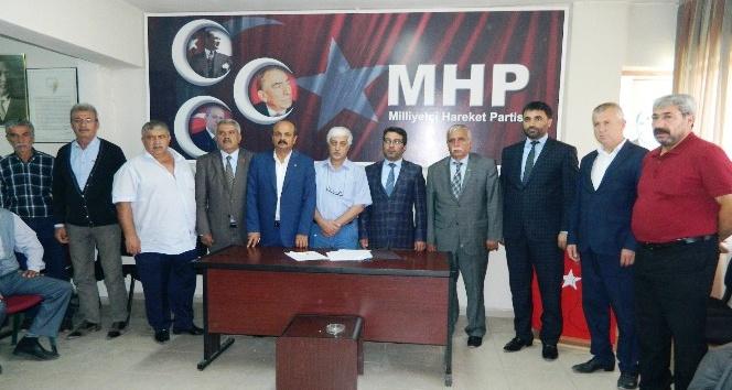 MHP Doğanşehir ilçe kongresi yapıldı