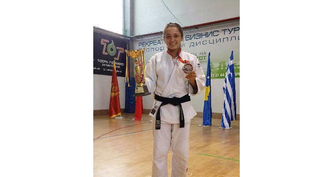 Osmangazili judocu Balkan üçüncüsü