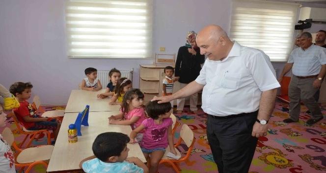 Adıyaman Üniversitesi kreşinin yeni eğitim öğretim yılı ilk toplantısı yapıldı