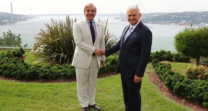 Başbakan Yıldırım, Pencap Eyaleti Başbakanı Şerifi kabul etti