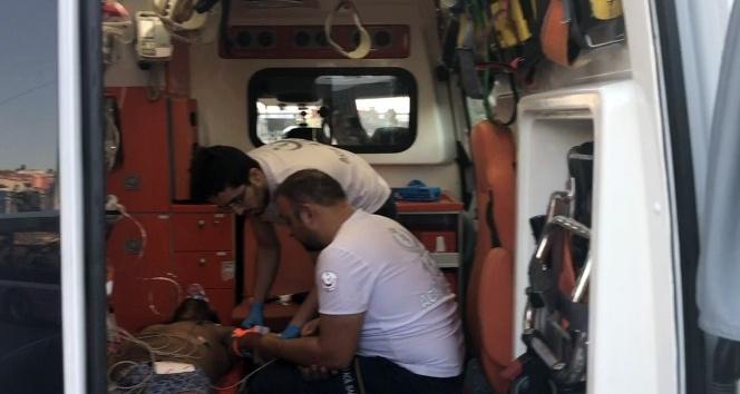 Uyuşturucunun etkisiyle denize giren şahıs son anda kurtarıldı