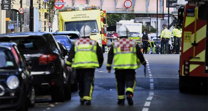 Londrada güvenlik alarmı! Metro istasyonu boşaltıldı