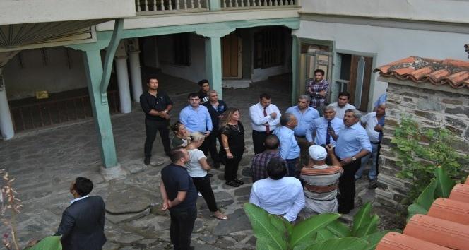 Turizm Bakan Yardımcısı Yayman, Birgi'yi ziyaret etti