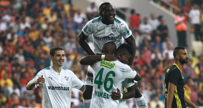 Süper Lig: E. Y. Malatyaspor: 2 Bursaspor: 4