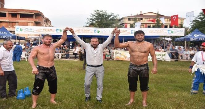 Paşa Güreşlerinin Başpehlivanı İsmail Balaban