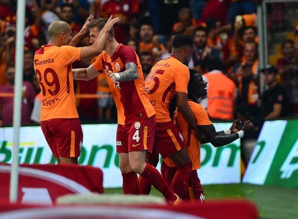 Galatasaray-Kasımpaşa Maçından Kareler