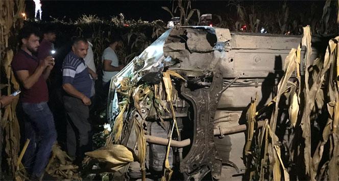 Sakaryada feci kaza: 3ü çocuk 5 yaralı