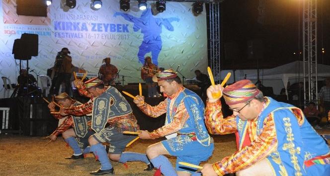 Seyitgazi'de 1'inci Uluslararası Zeybek Festivali heyecanla başladı