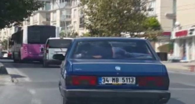 (Özel Haber) İstanbul'da tehlikeli yolculuklar kamerada