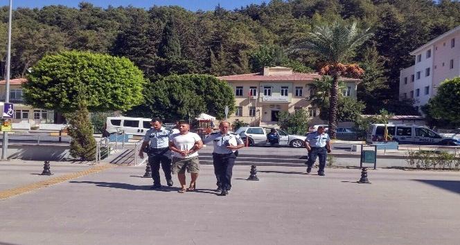 Antalya iş makineleri kundaklandı