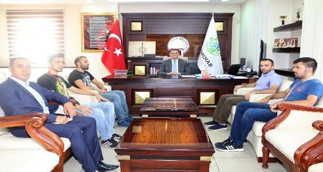 Başkan Vekili Balcı, engelli sporcuları kabul etti