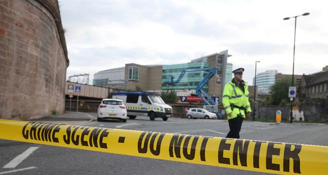 İngilterede terör operasyonu