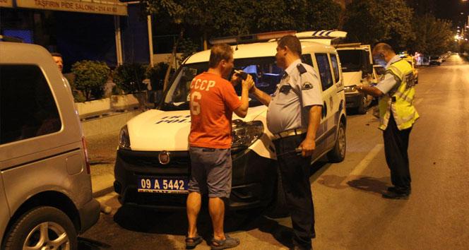 Alkollü sürücü polislere zor anlar yaşattı!