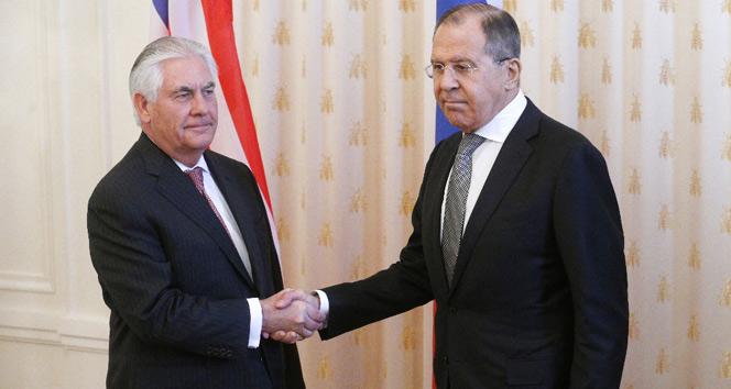 Lavrov ve Tillerson, Suriyeyi görüştü