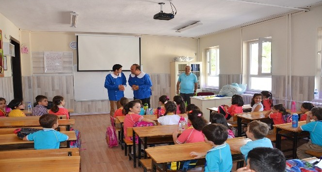 MBŞT'den okula yeni başlayan öğrenciler için uyum etkinliği