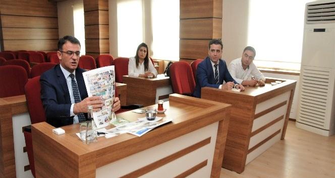 Başkan Vekili Dr. Balcı brifing aldı