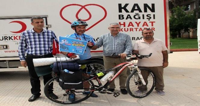 Lösemili çocuklar için 935 kilometre pedal çevirecek