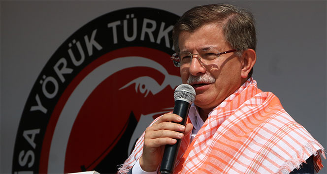 Eski Başbakan Davutoğlundan Kerkük mesajı