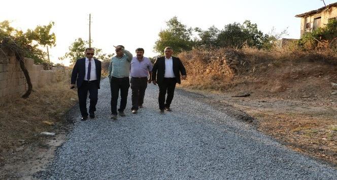 Manisa Büyükşehir'den asfalt çalışması
