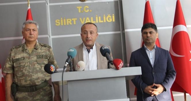 Vali açıkladı: Öldürülen terörist sayısı 9a çıktı