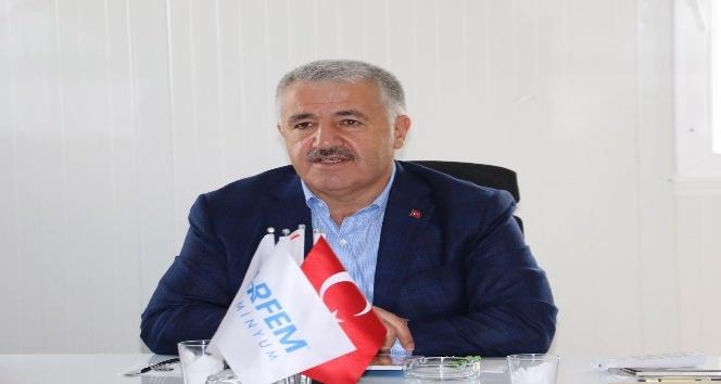 Bakan Arslan Diyarbakır'da