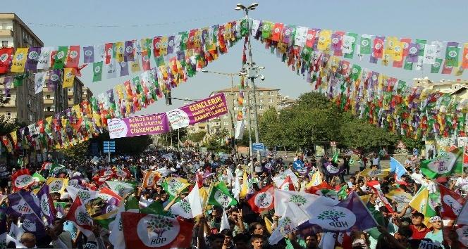 Diyarbakır'da HDP mitingi