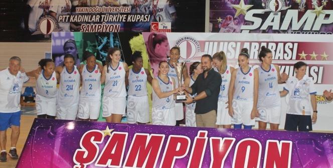 Uluslararası Dr. Suat Günsel Basketbol Kupası sona erdi