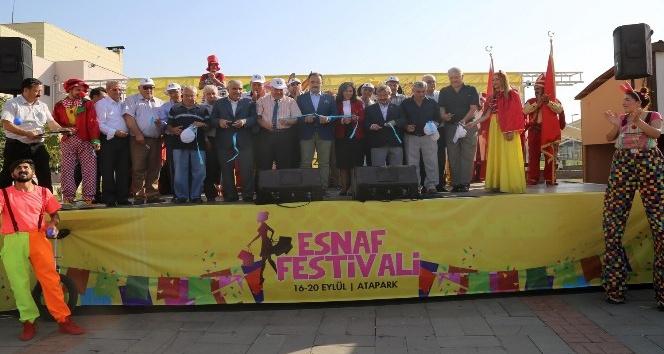 Uşak'ta 2. Esnaf Festivali başladı