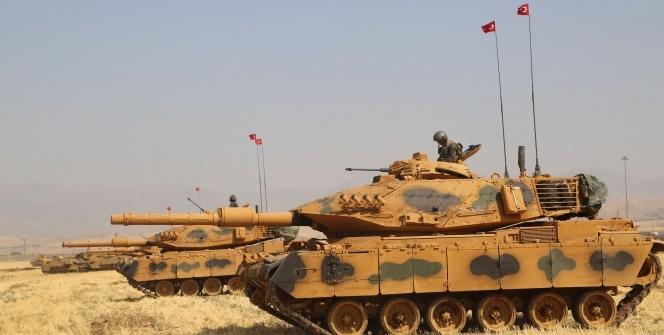 TSK Irak sınırında tatbikat başlattı