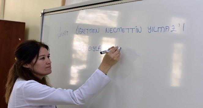 Şehit Öğretmen Necmettin Yılmaz'ın memleketi Gümüşha'ne adının verildiği okulda yeni dönem hüzünlü başladı