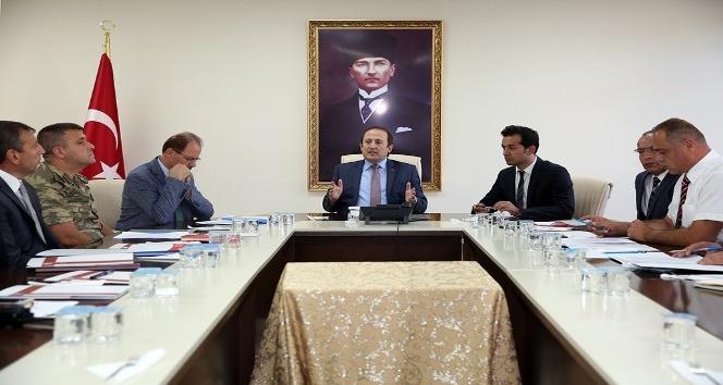 Bayburt'ta üniversite güvenlik tedbirleri toplantısı