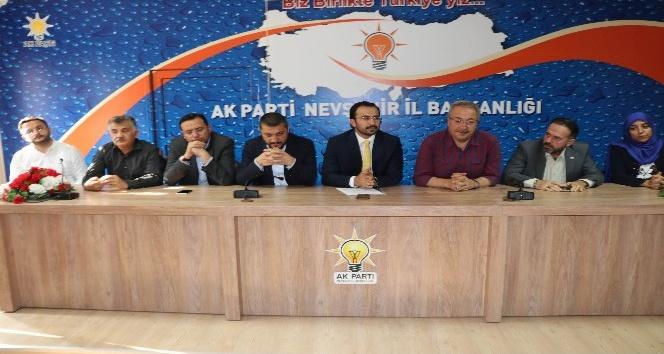 "AK Parti İl Başkanı Tanrıver, ""İl Kongresinde Aday Olmayacağım"""
