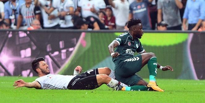 Beşiktaş Atiker Konyaspor maçından kareler