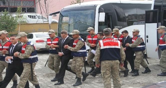 FETÖ sanığı 27 askerin yargılanmasına devam edildi