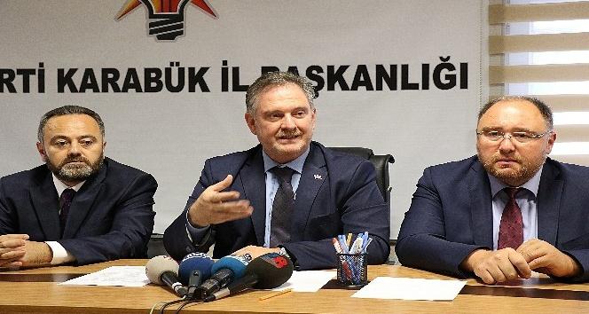 AK Parti İl Başkanı Saylar istifasını açıkladı