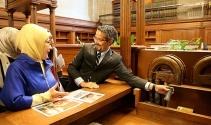 Emine Erdoğan, New York Public Library'i ziyaret etti