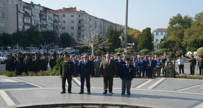 Gaziler Günü Kırklareli'nde törenlerle kutlandı.
